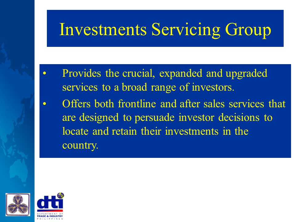 Investments Servicing Group