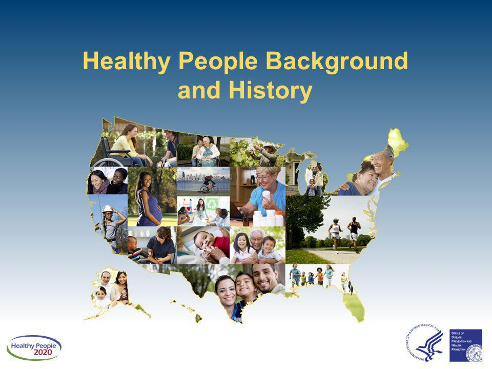 Healthy People Background and History