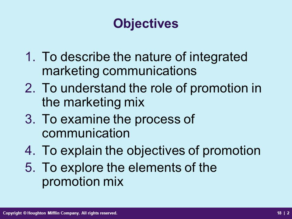 To describe the nature of integrated marketing communications