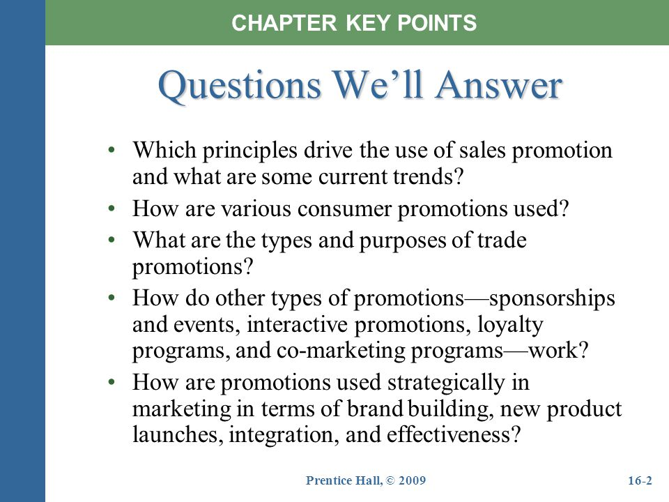 Chapter 16 sales promotion events and sponsorships
