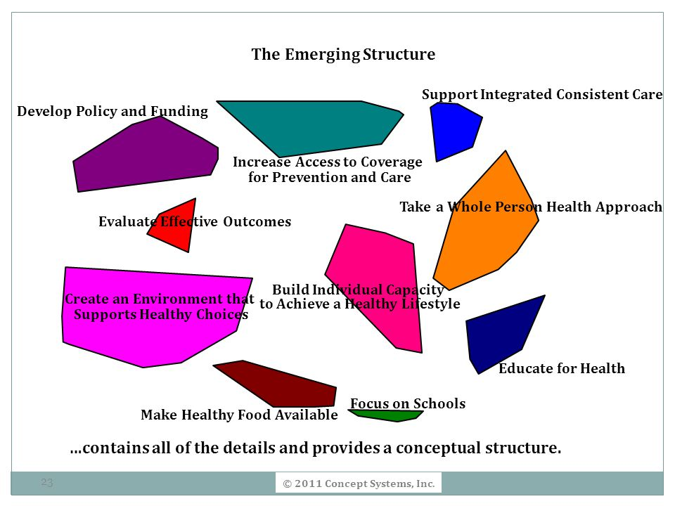 The Emerging Structure