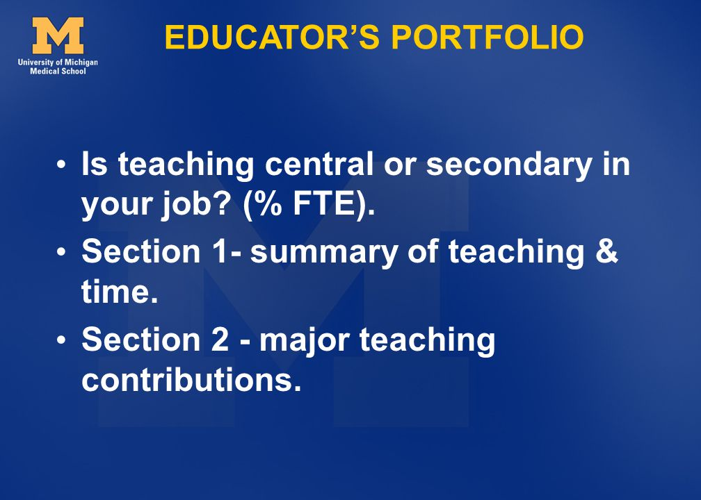 Is teaching central or secondary in your job (% FTE).