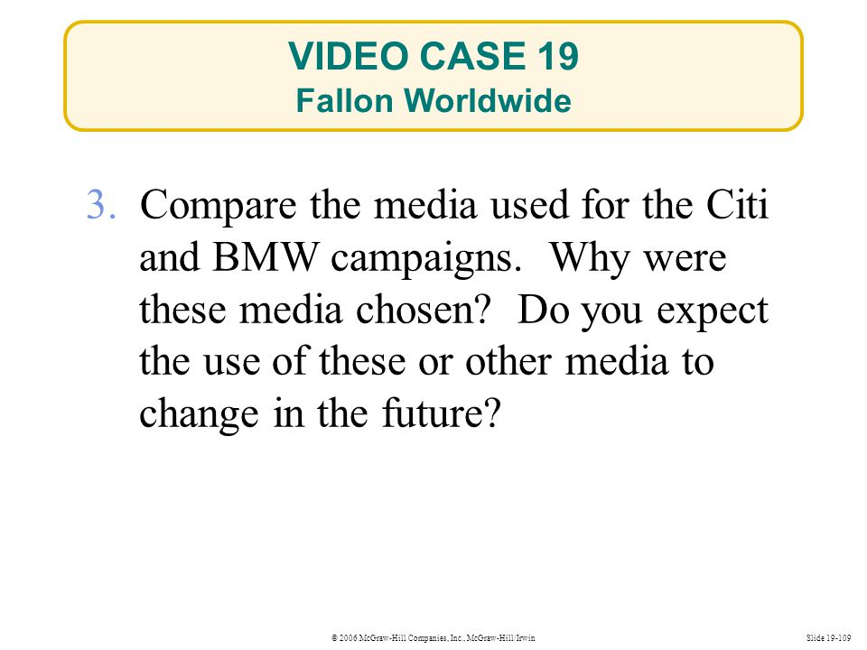 VIDEO CASE 19 Fallon Worldwide.