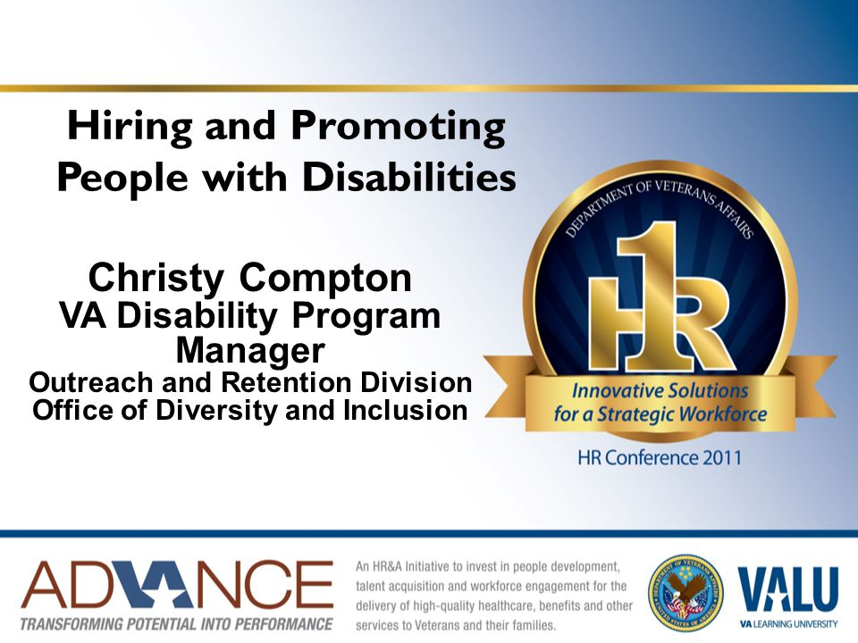 Hiring and Promoting People with Disabilities