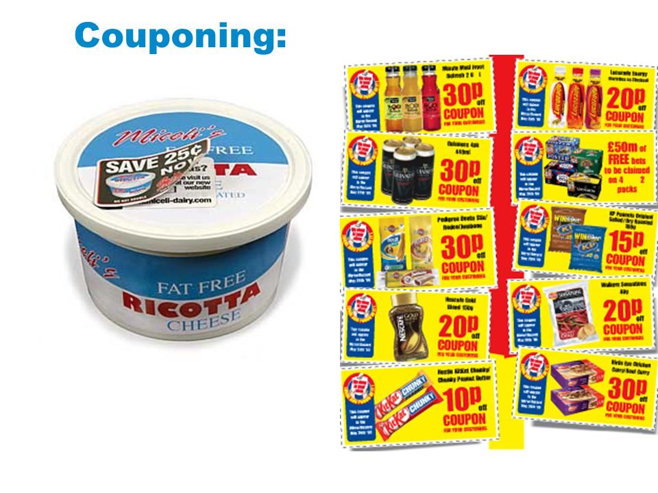 Couponing: