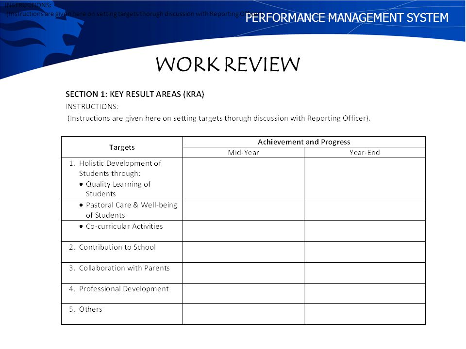online performance management system pdf