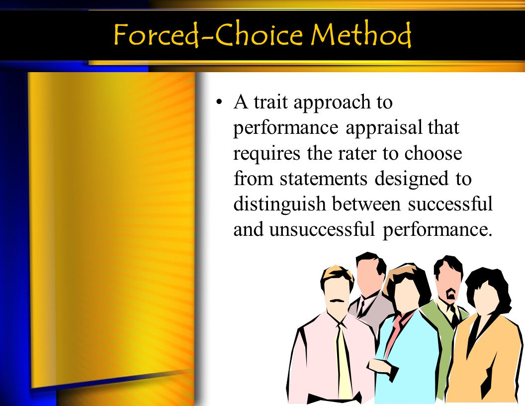 Forced-Choice Method