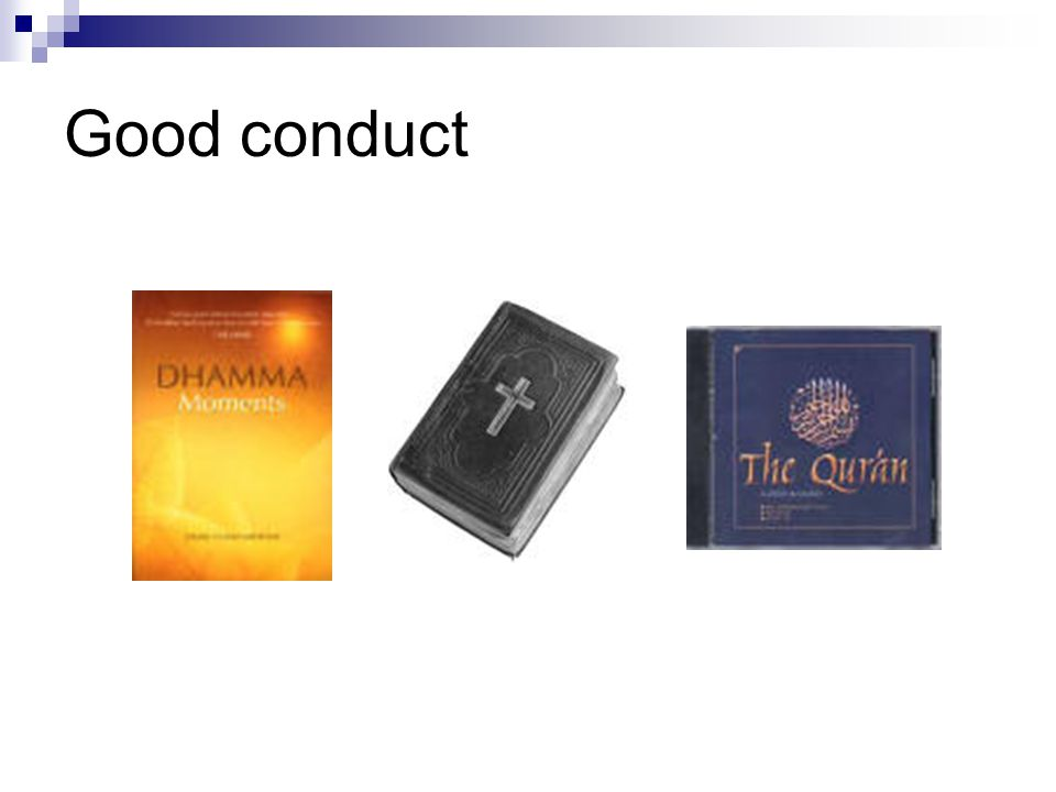 Good conduct