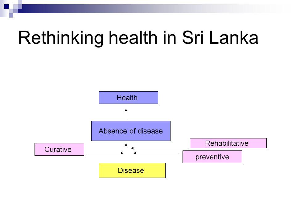 Rethinking health in Sri Lanka