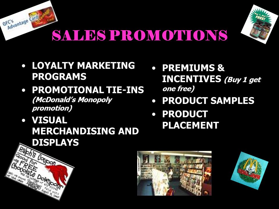 SALES PROMOTIONS LOYALTY MARKETING PROGRAMS