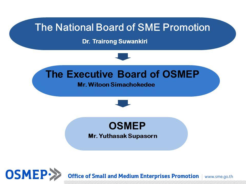 The Executive Board of OSMEP OSMEP