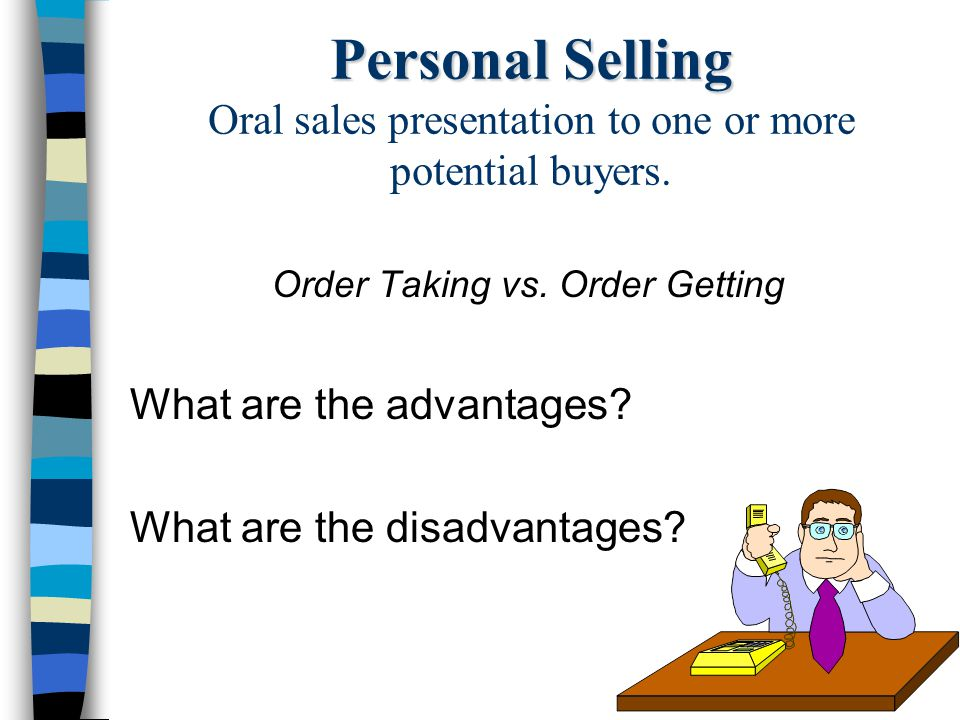 Order Taking vs. Order Getting