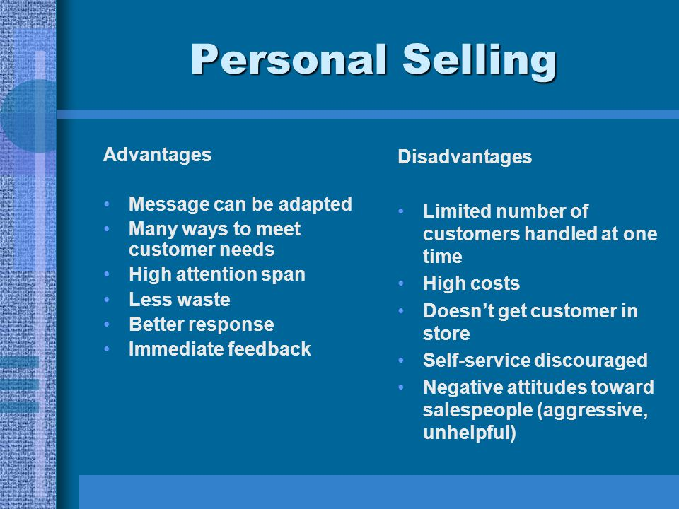 The Disadvantages of Direct Selling