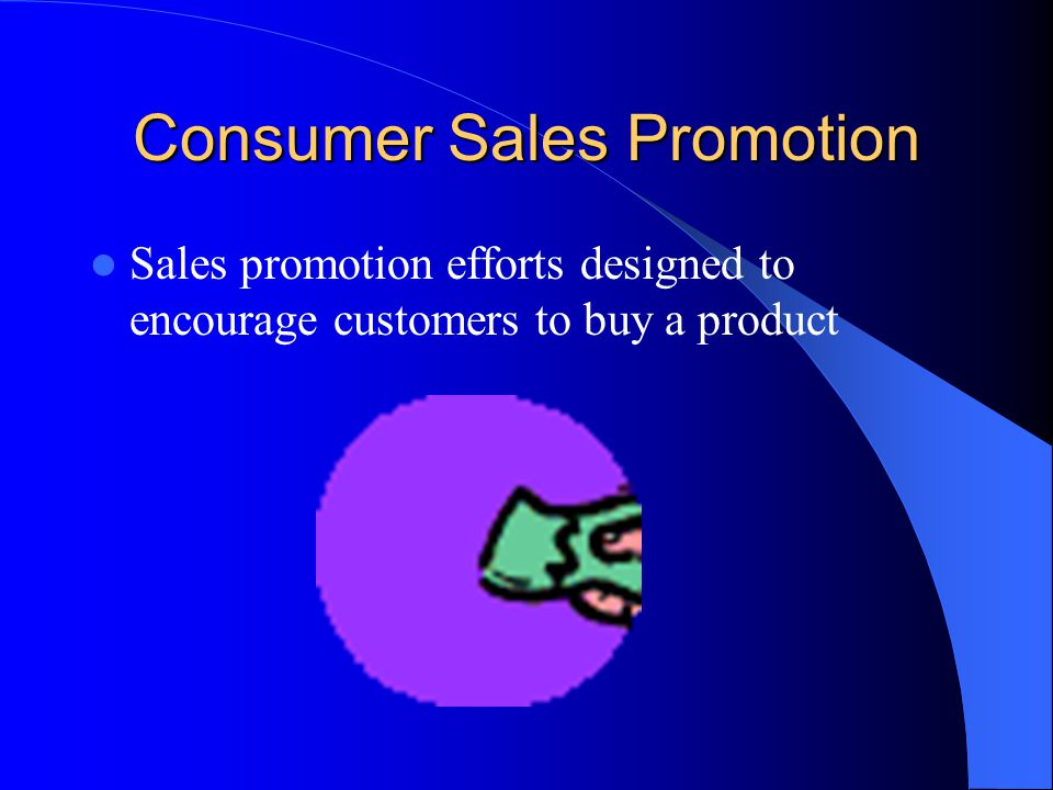 Consumer Sales Promotion