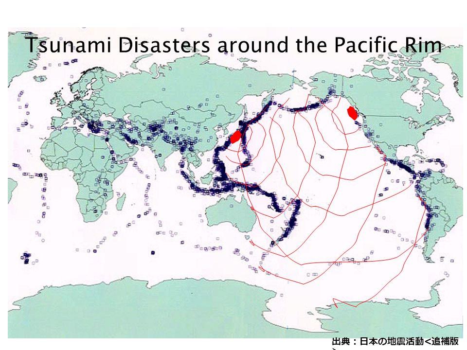 Tsunami Disasters around the Pacific Rim