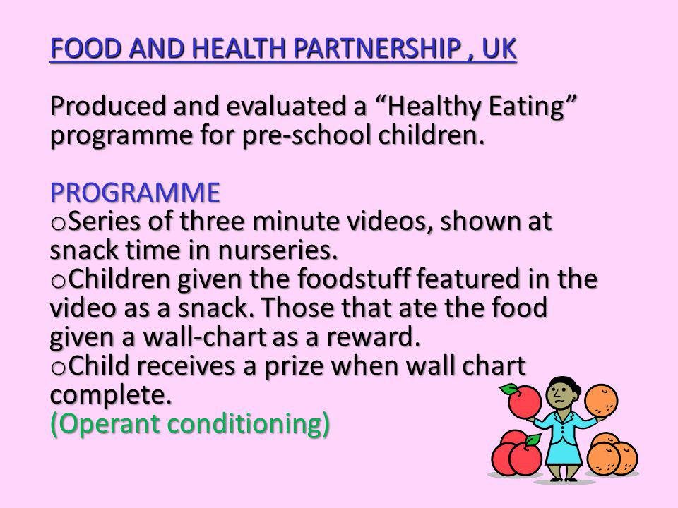 FOOD AND HEALTH PARTNERSHIP , UK
