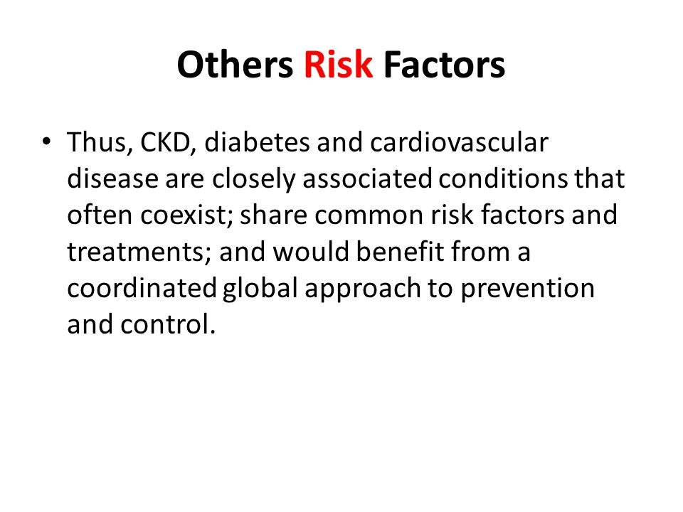 Others Risk Factors