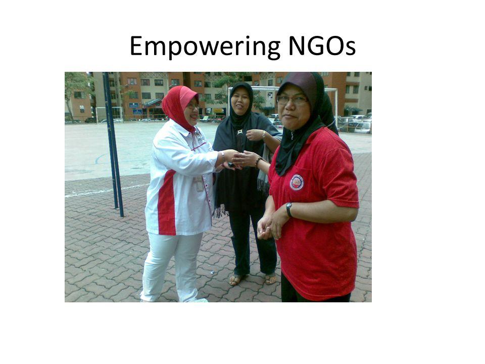 Empowering NGOs