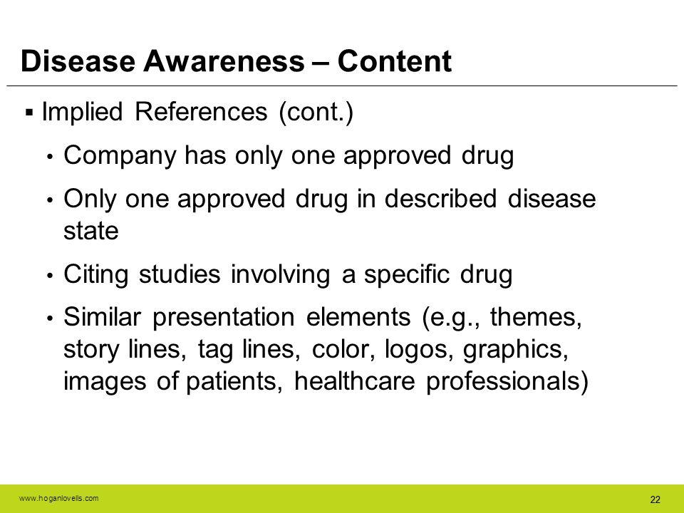Disease Awareness – Content