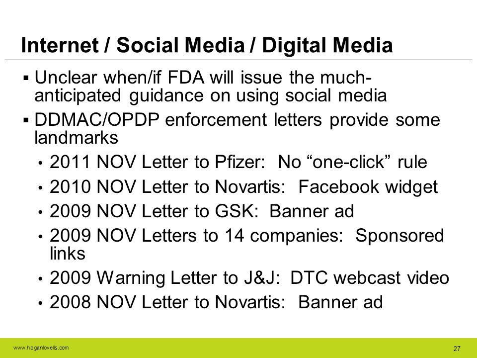 Internet / Social Media / Digital Media