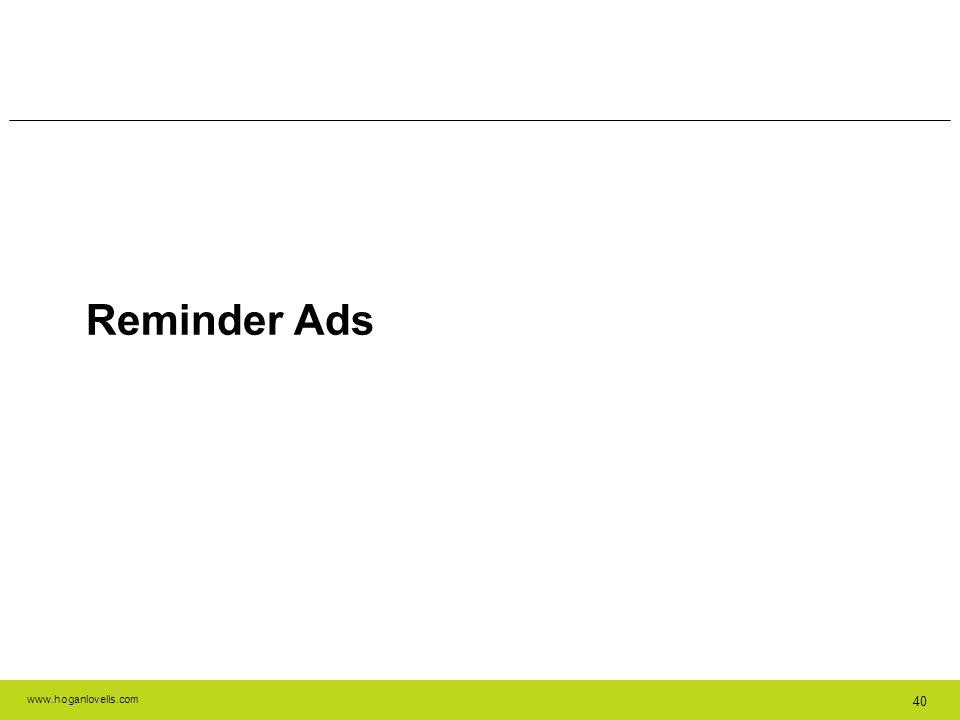 Reminder Ads 40