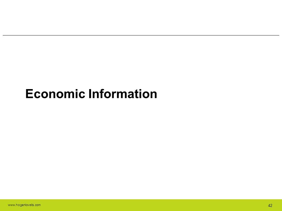Economic Information 42