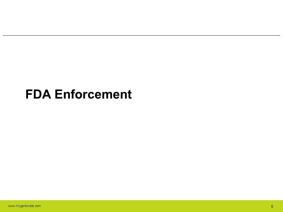 FDA Enforcement 6