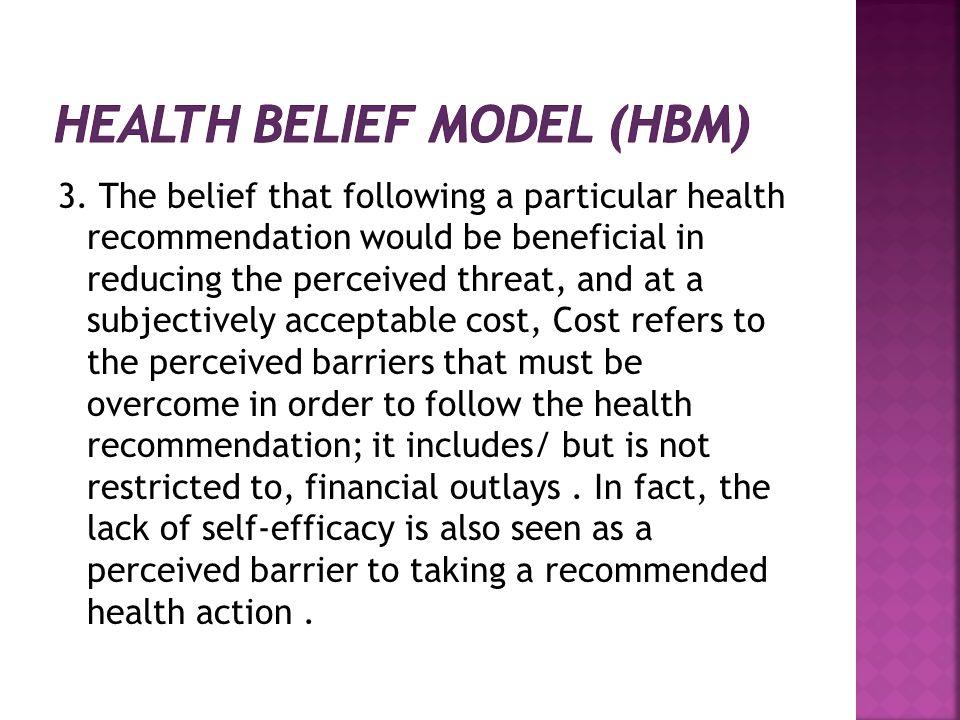 Health Belief Model (HBM)