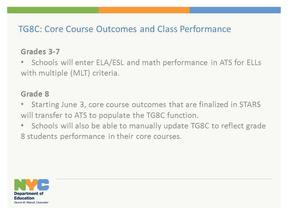 Enter Core Course Outcomes ('P' or 'F')