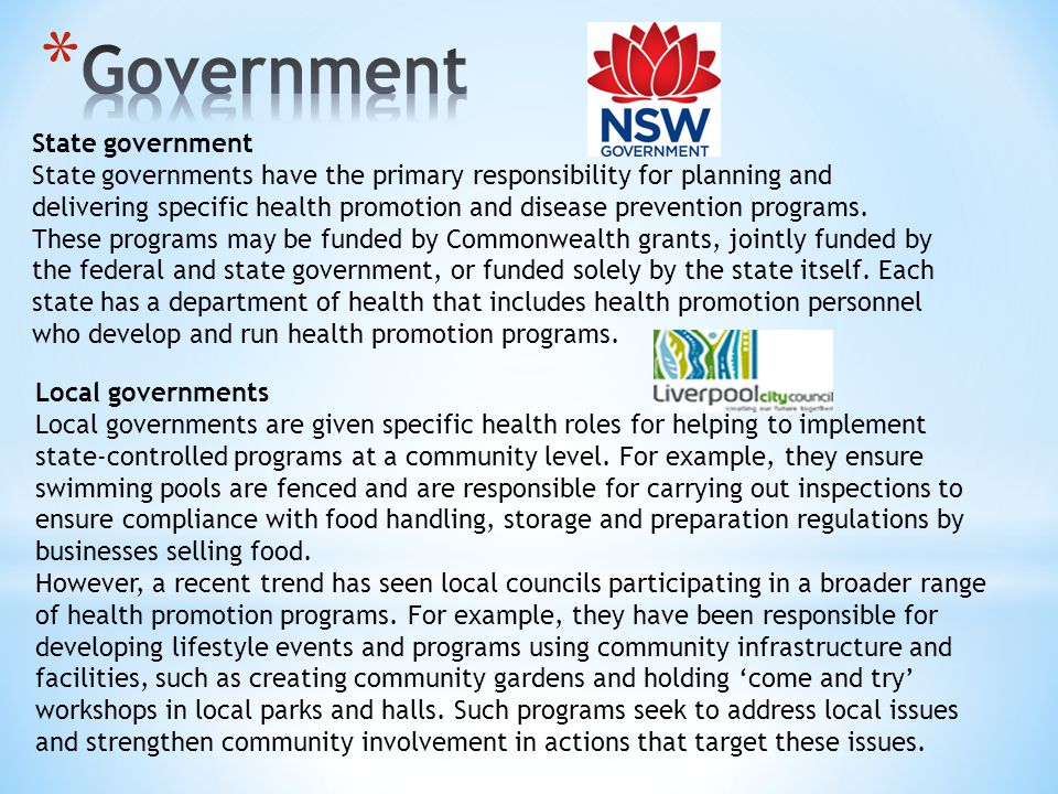 Government State government