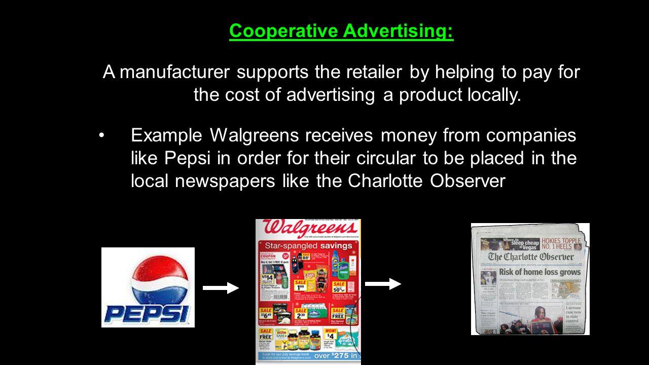 Cooperative Advertising: