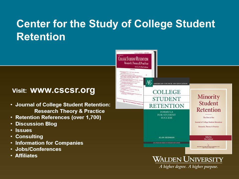 Center for the Study of College Student Retention
