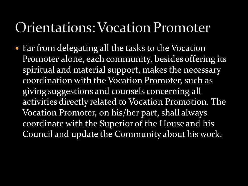 Orientations: Vocation Promoter