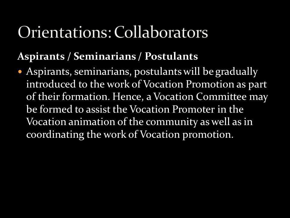 Orientations: Collaborators