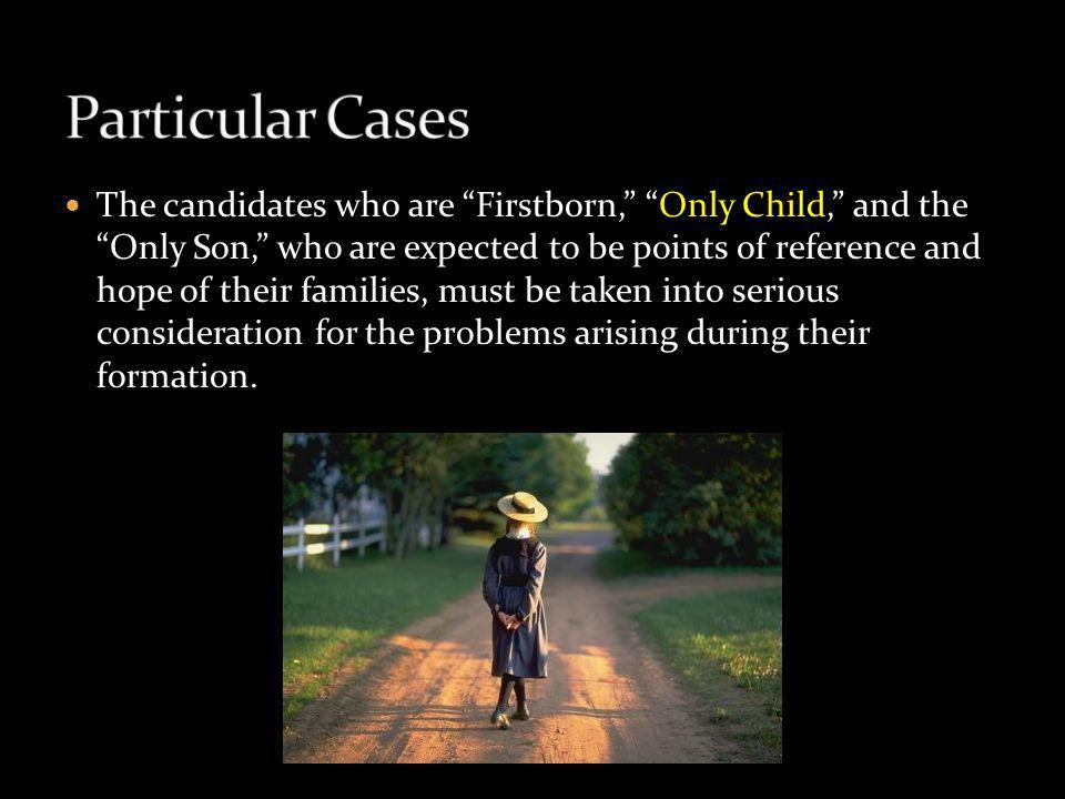 Particular Cases