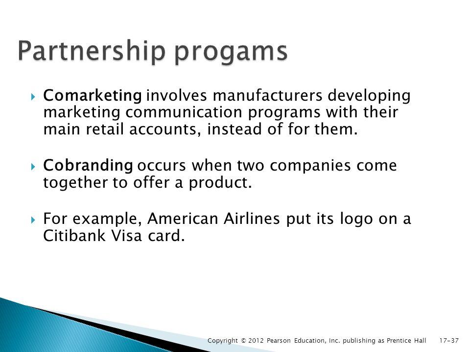 Partnership progams