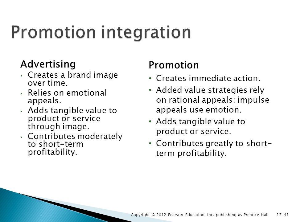 Promotion integration