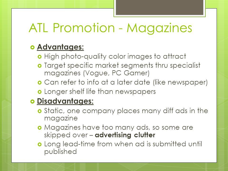 ATL Promotion - Magazines