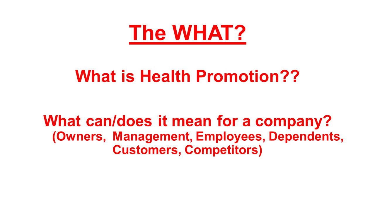 what is health promotion Health promotion is a behavioral social science that draws from the biological,  environmental, psychological, physical and medical sciences to promote health.