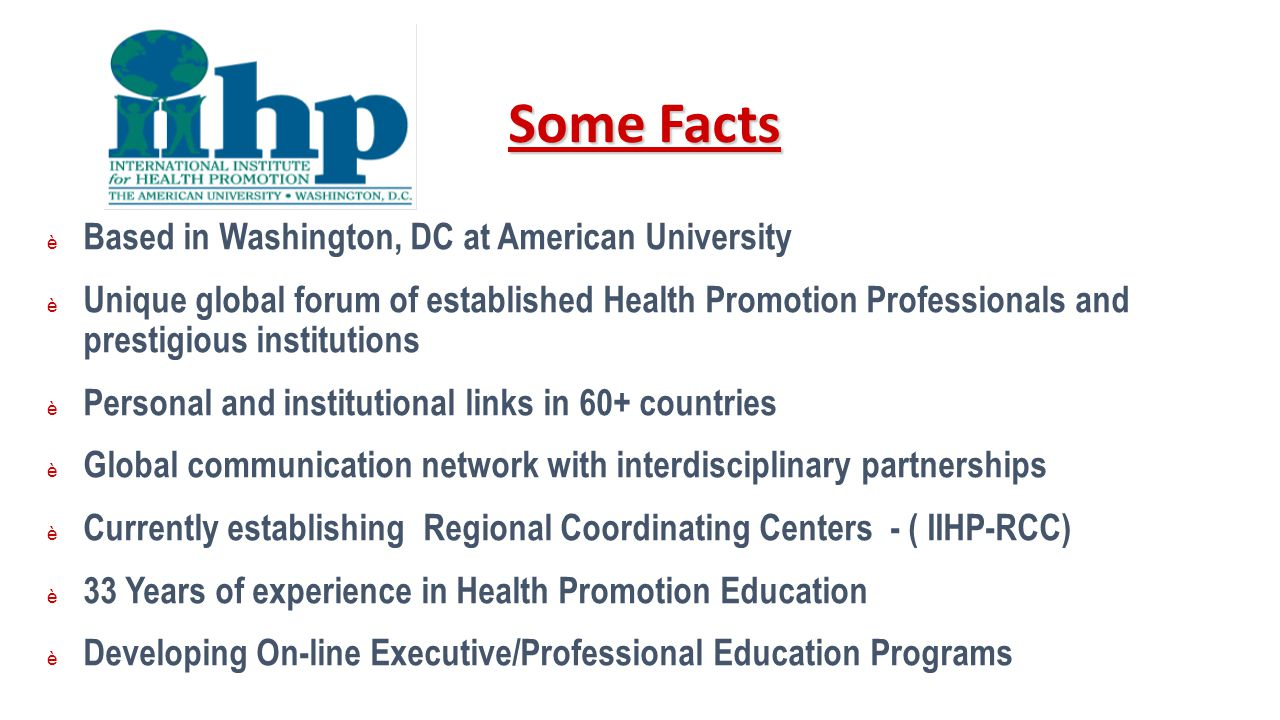 Some Facts Based in Washington, DC at American University