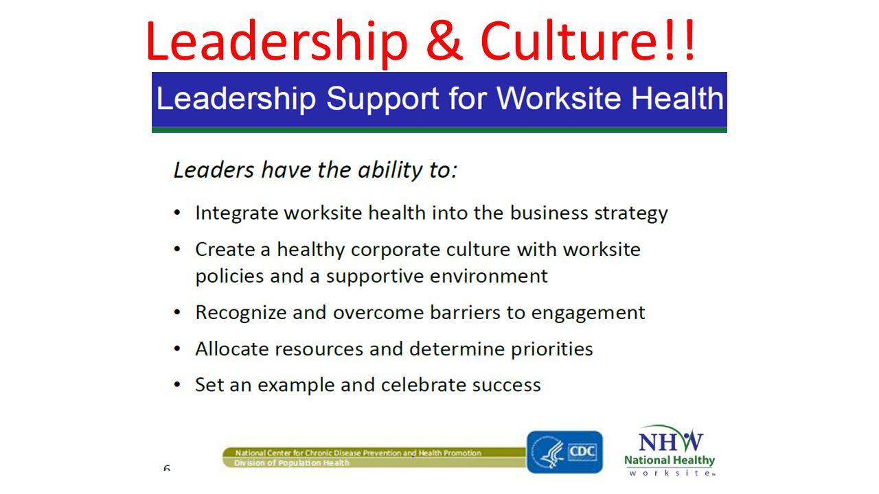 Leadership & Culture!!