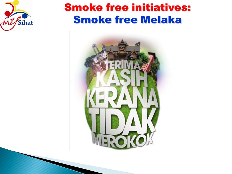 Smoke free initiatives: