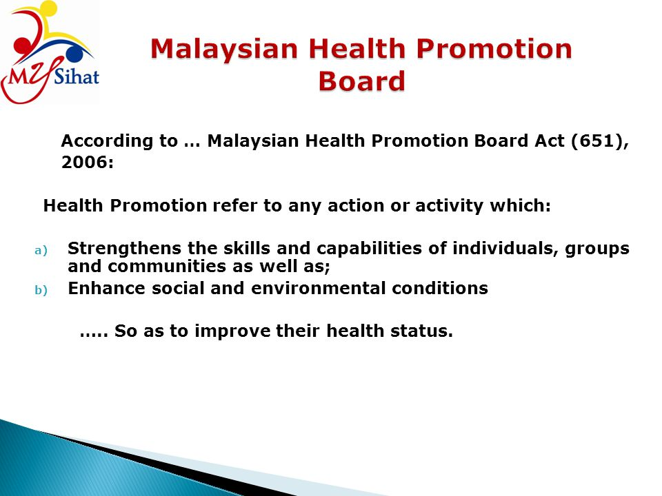 Malaysian Health Promotion Board