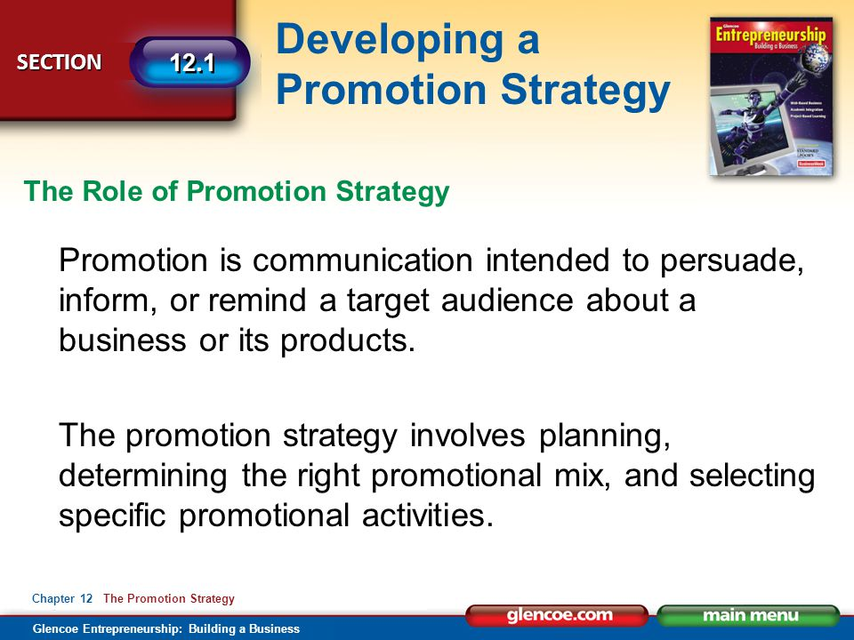 The Role of Promotion Strategy