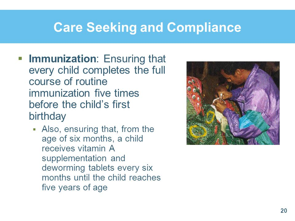 Care Seeking and Compliance