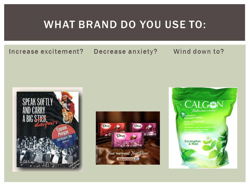 What Brand do you use to: