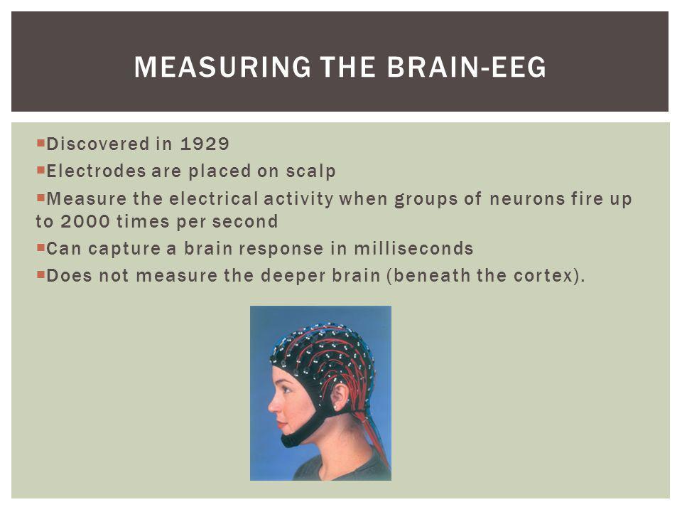 Measuring the brain-EEG