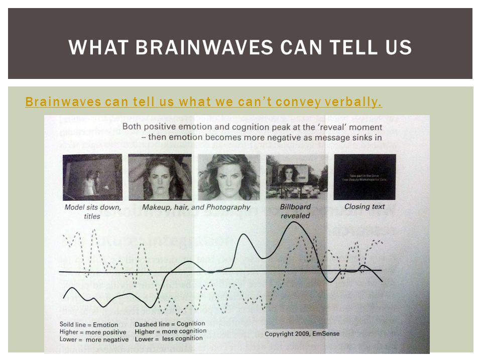 What brainwaves can tell us