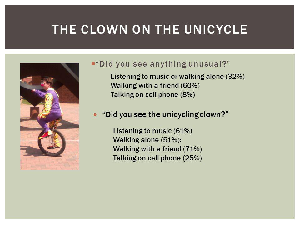 The Clown on the Unicycle