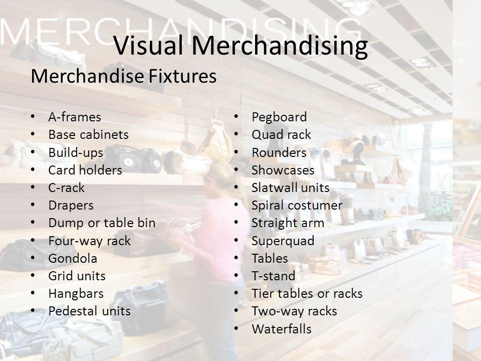 Visual Merchandising Merchandise Fixtures A-frames Base cabinets